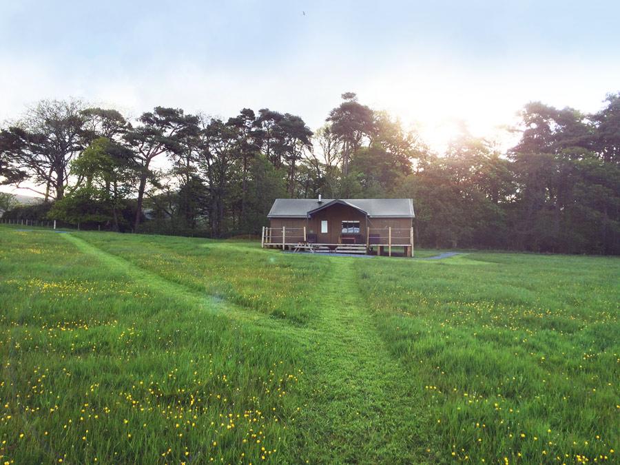Глэмпинг — комфортная палатка для отдыха