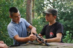 Как ПС Тернопольщины тренировал школьников