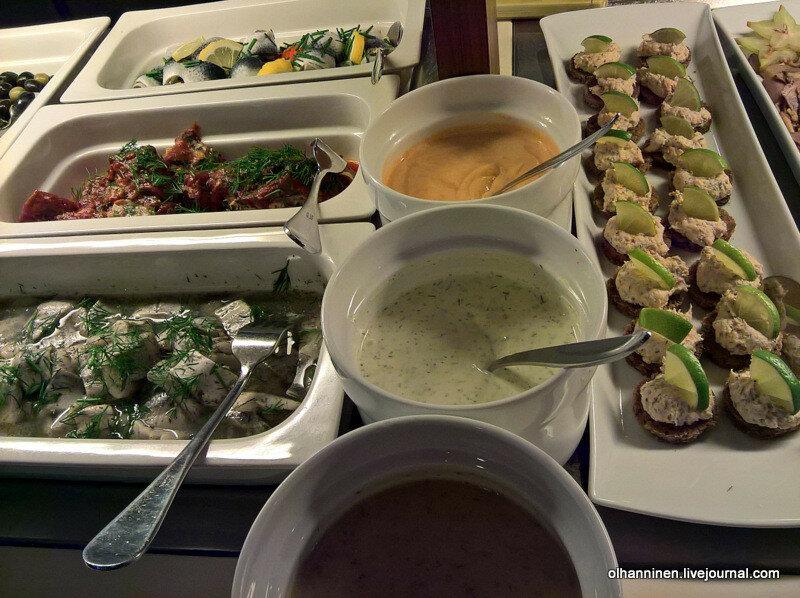 finnlines, кулинария