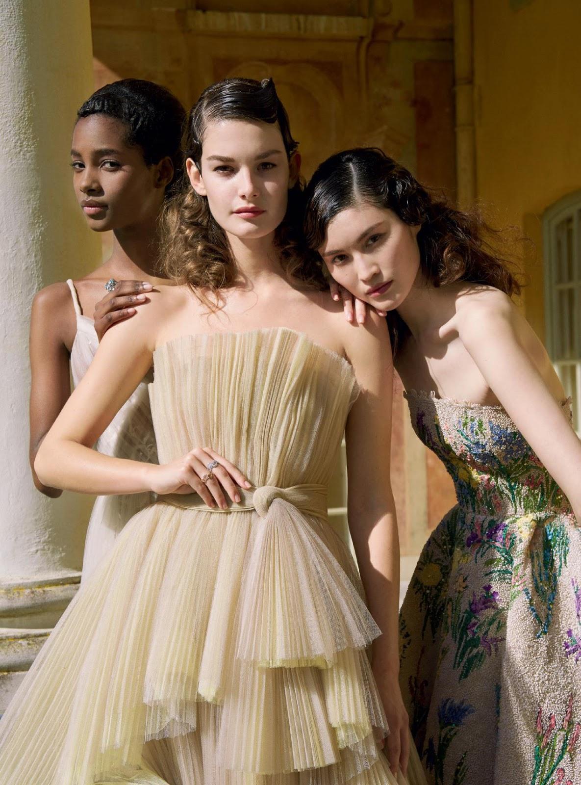 Harper's Bazaar UK June 2017 / модели Tami Williams, Ophelie Guillermand, Sui He / фотограф Erik Madigan Heck