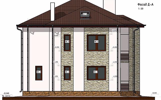частный дом, проект, фасады