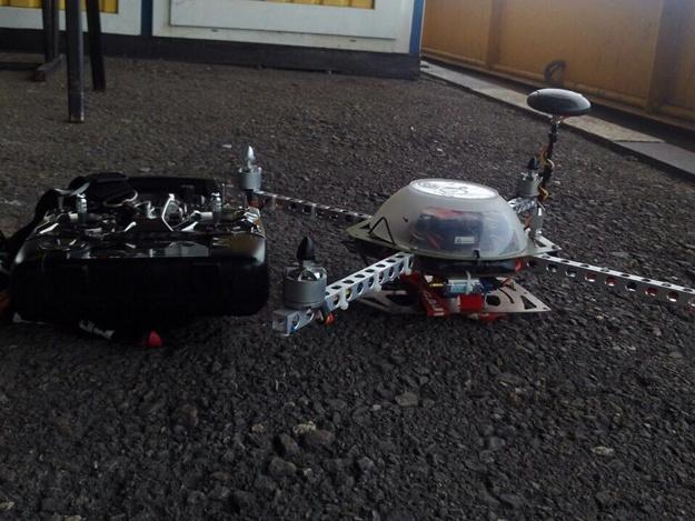 Харьковские таможенники отыскали вмикроавтобусе из Российской Федерации два беспилотника иквадрокоптер