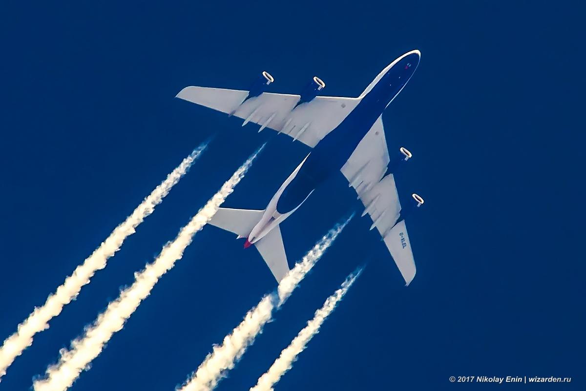 A380 на высоте 11200 м