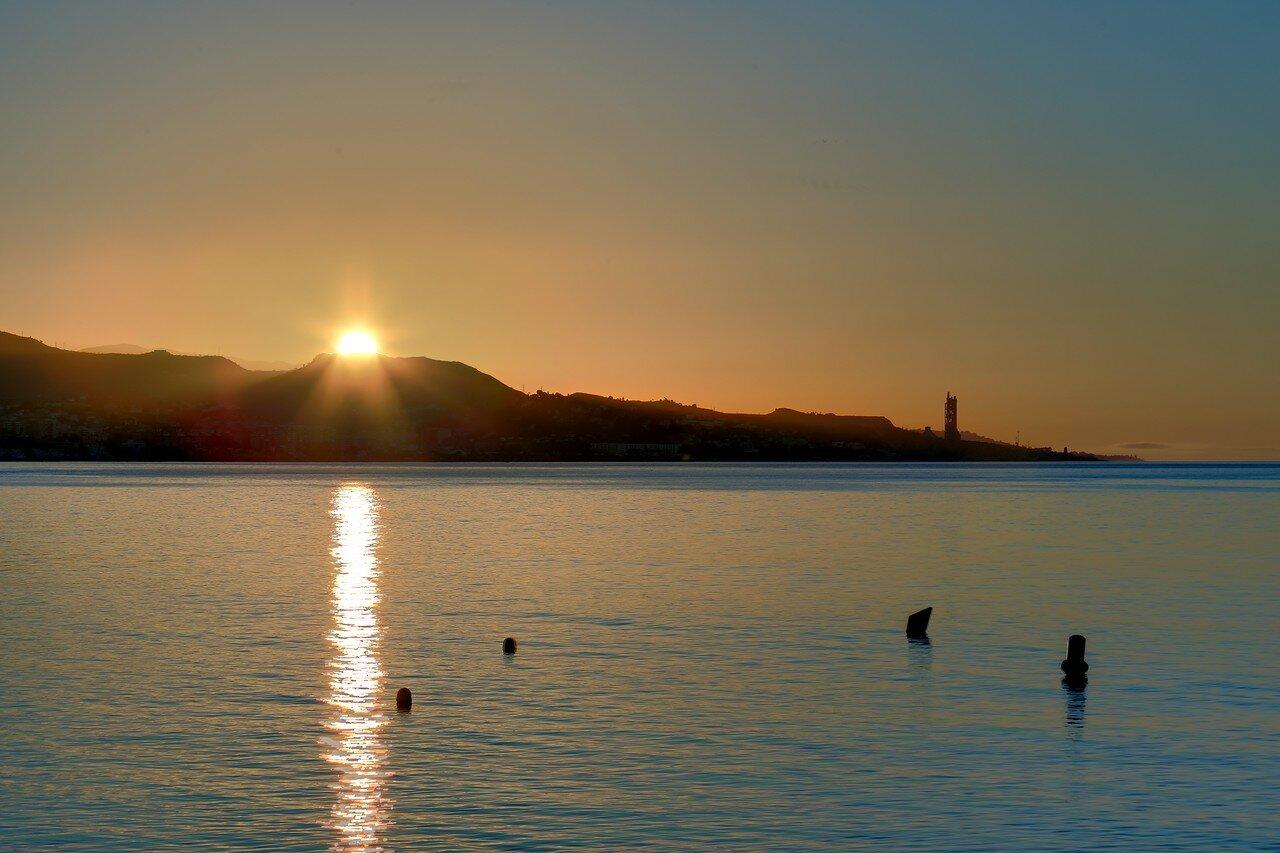 Малага. Утро в порту