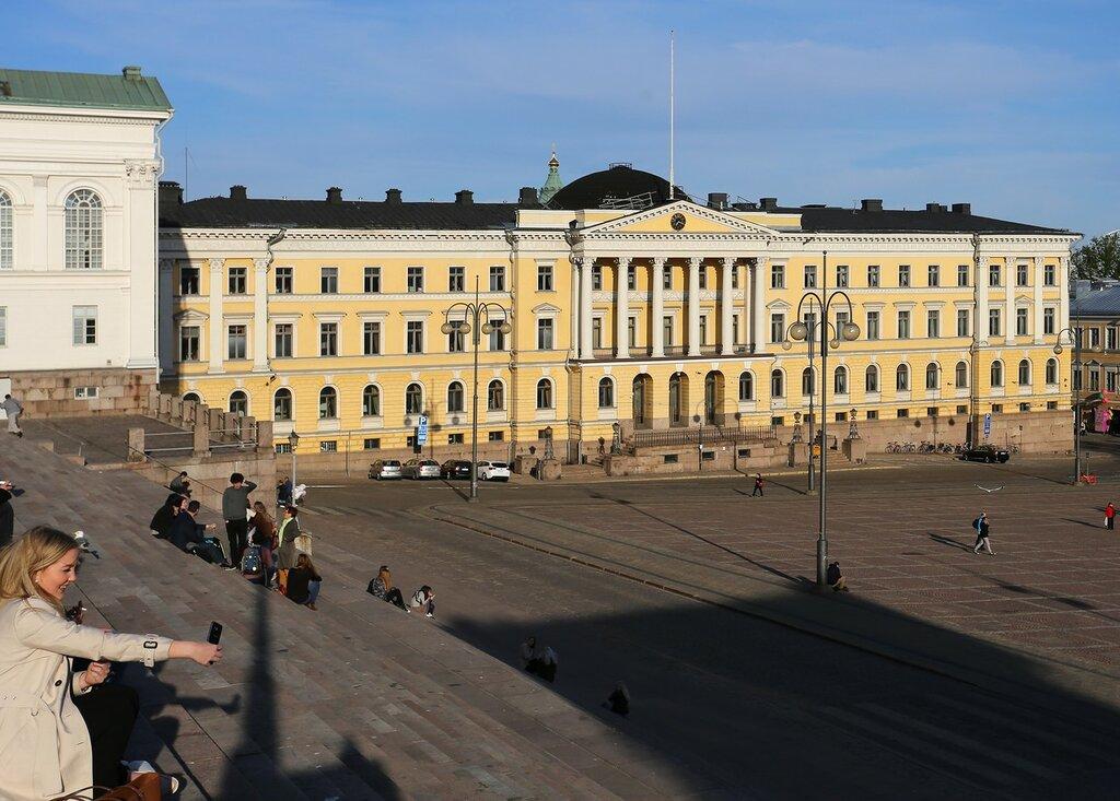 Helsinki. Senate building (Valtioneuvoston linna)