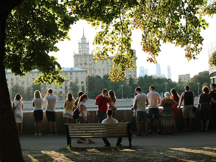Благоустройство общественных пространств в Москве