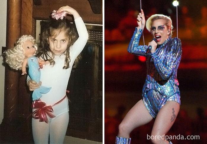 Певица Леди Гага.