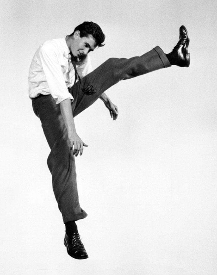 Энтони Перкинс, американский актер.