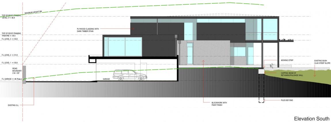 Проект дома Glendowie House от Bossley Architects