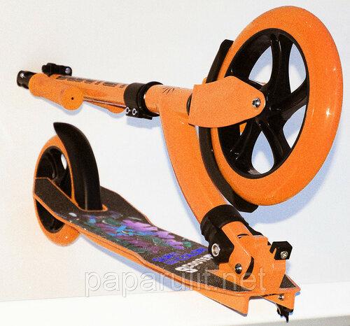 Самокат c большими колесами Sun Color Scooter SKL-033