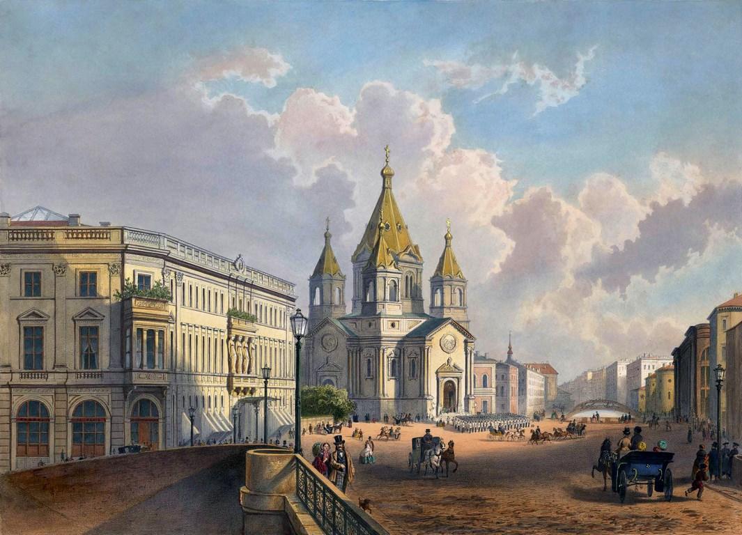 Благовещенская церковь Конногвардейского полка