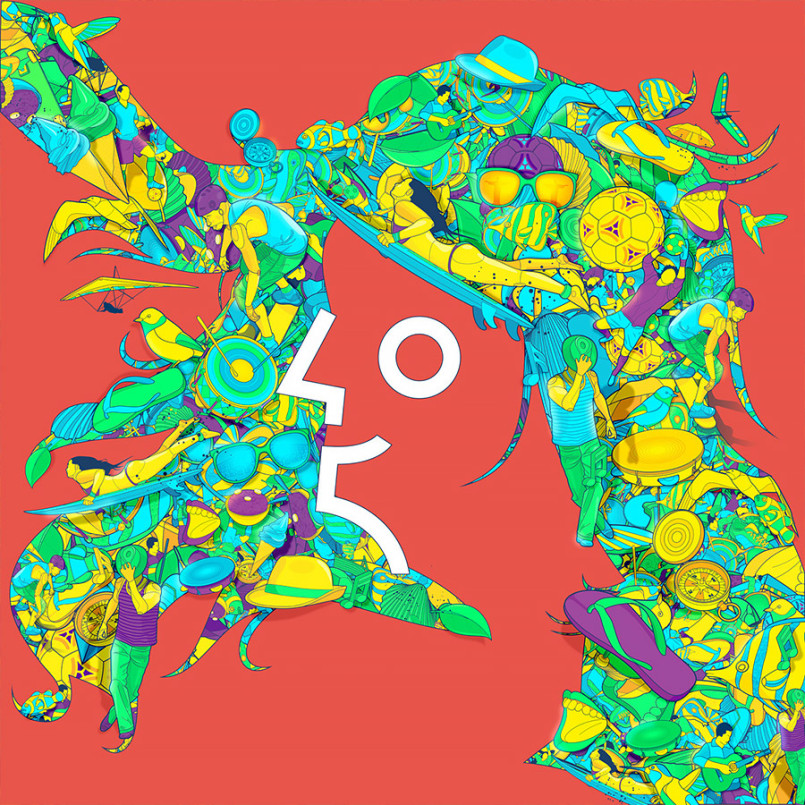 Visual Chaos: Illustrations by Guilherme Marconi