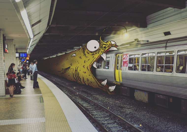 Daily Monsters - When strange creatures are invading our everyday life