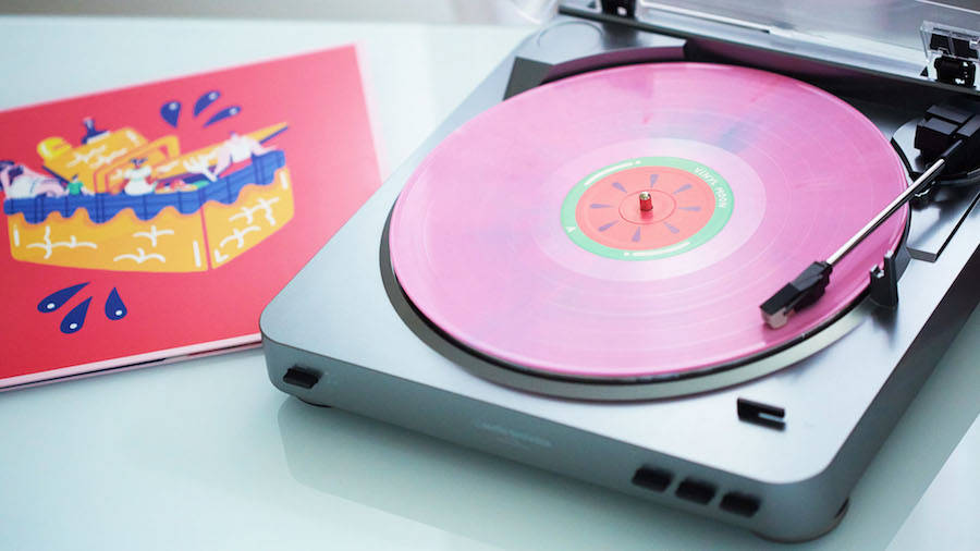 Colorful Illustrated Vinyl Cover & Design
