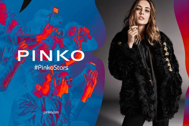 Pinko enlists Danish supermodel Nadja Bender to star in their Fall Winter 2016.17 advertising campai