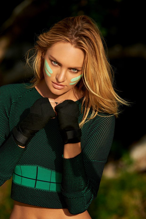Supermodel Candice Swanepoel stars in Biotherm 's Wonder Mud 2016 advertising campaign capture