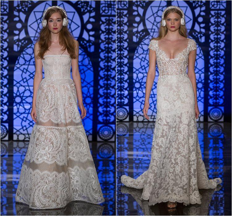 Кружевные свадебные платья 2016 фото 11