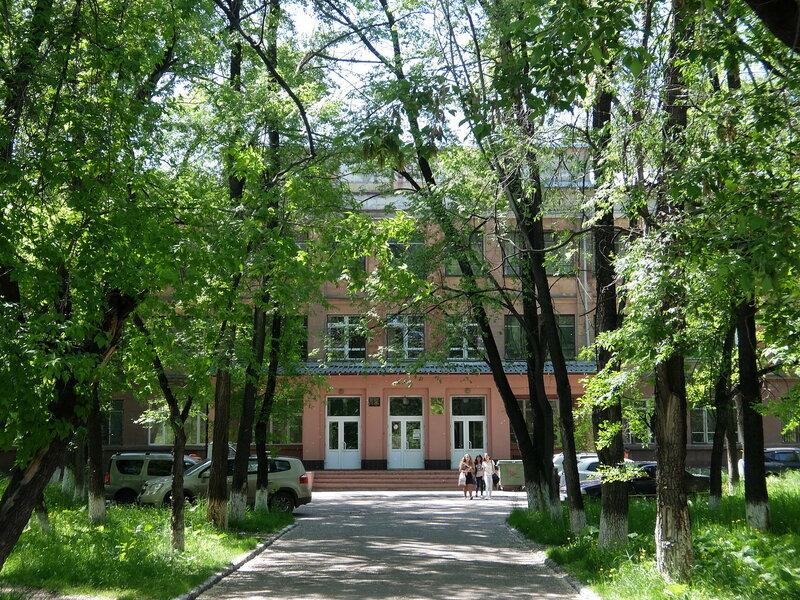Новокузнецк - Улица 25 лет Октября - Педагогический колледж