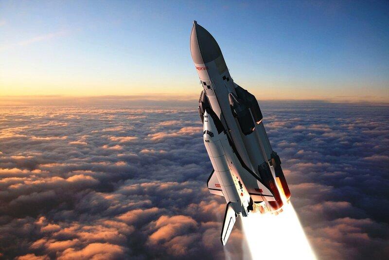 Советский многоразовый космический корабль Буран..jpg