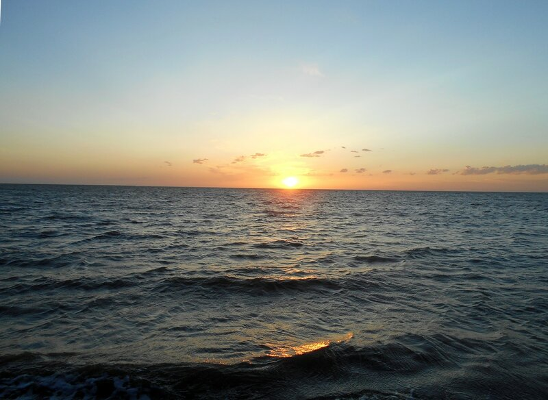 Море, горизонт, уход Солнца ... DSCN5539.JPG