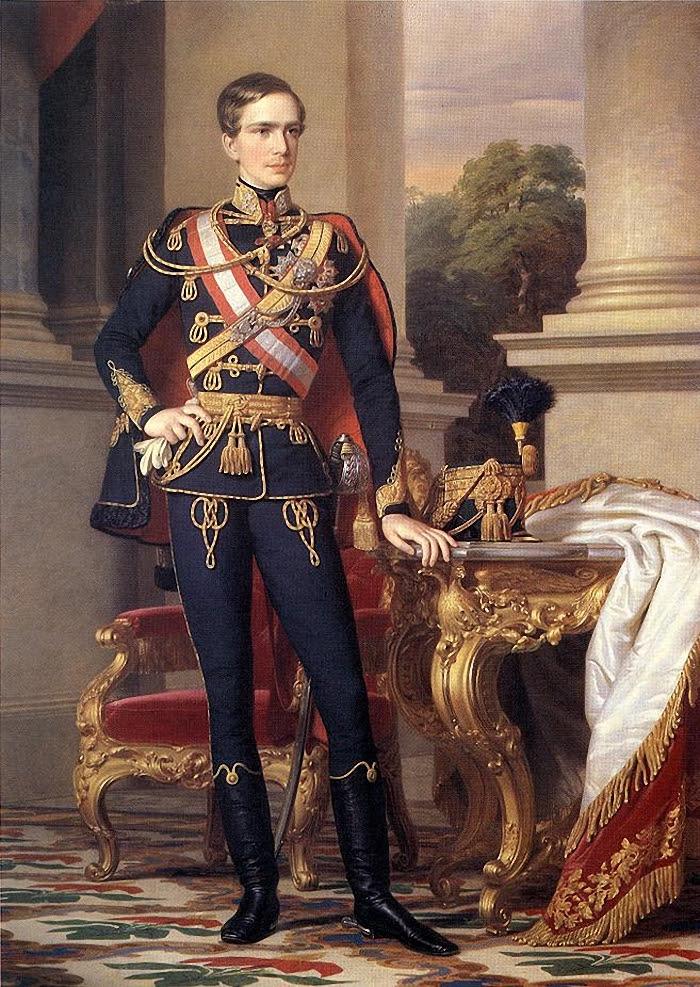 Портрет императора Франца-Иосифа