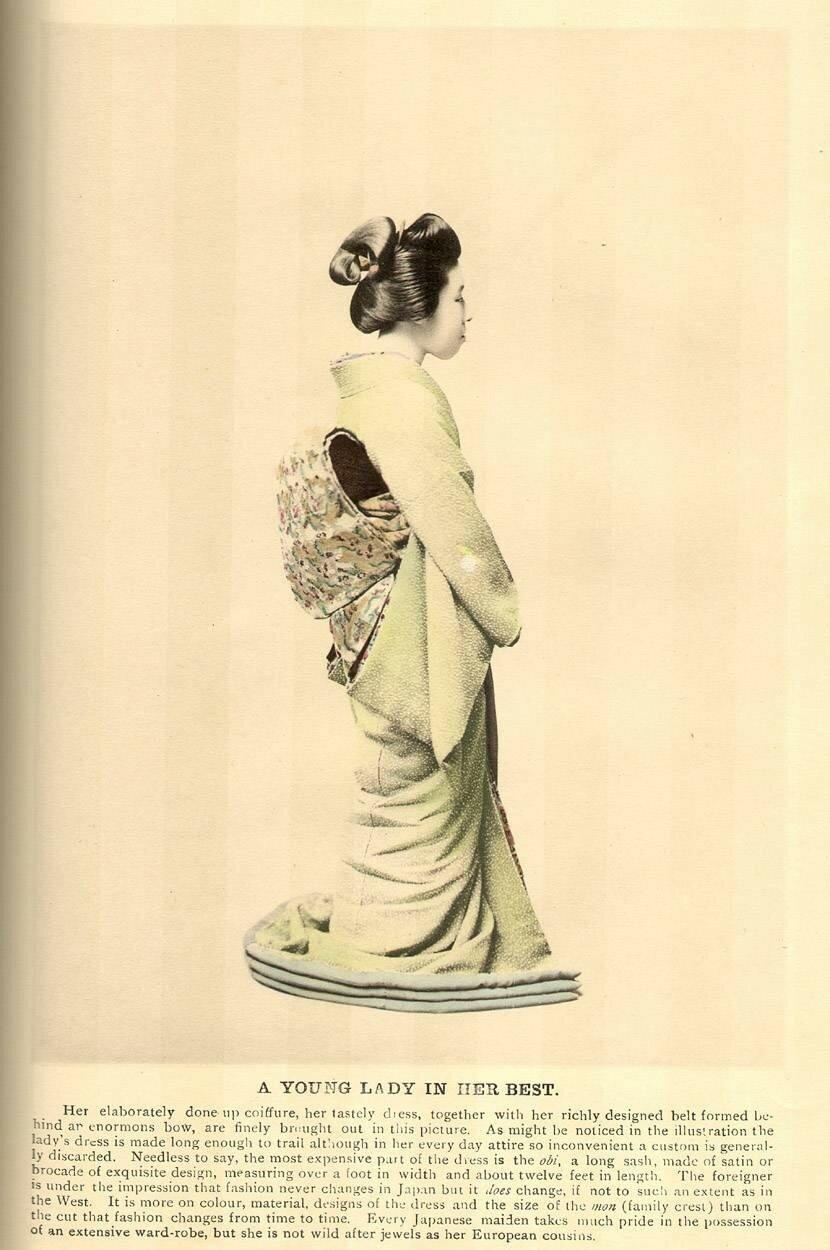 Молодая дама в ее лучшем наряде