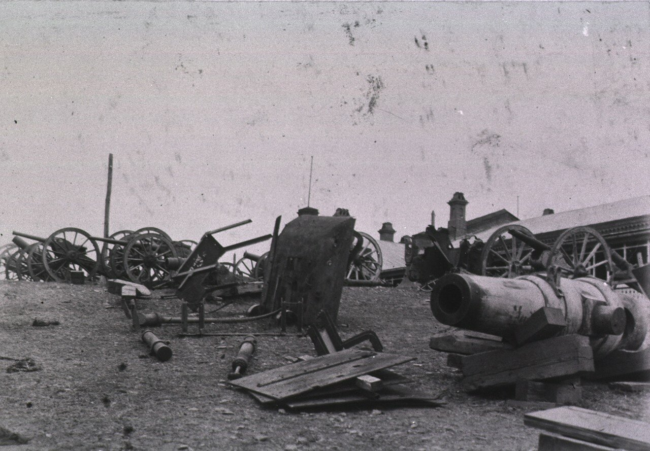 Порт-Артур. Полевая артиллерия