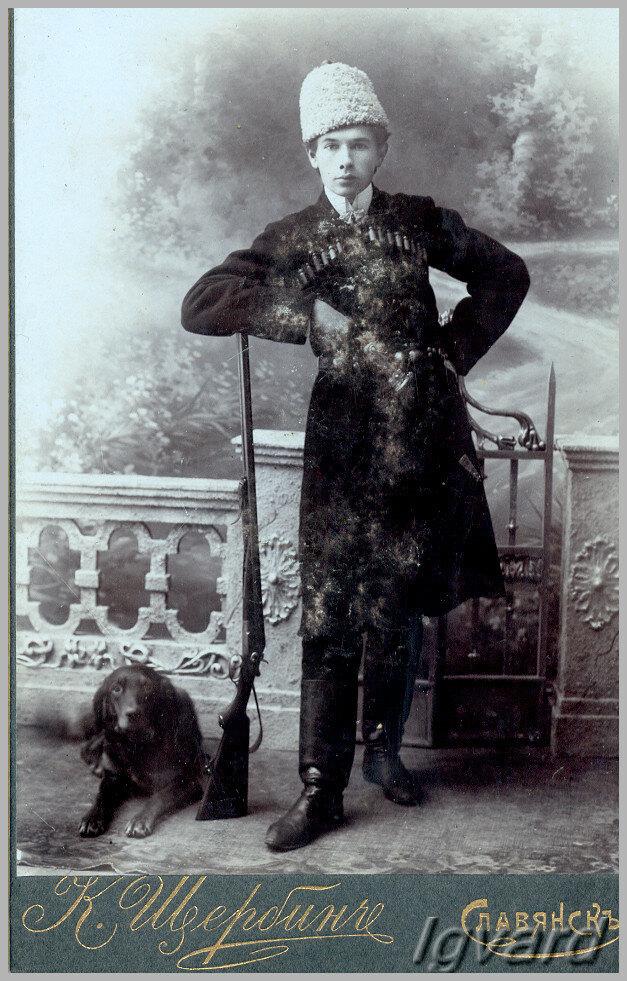 Антон Константинович Петренко. 1910