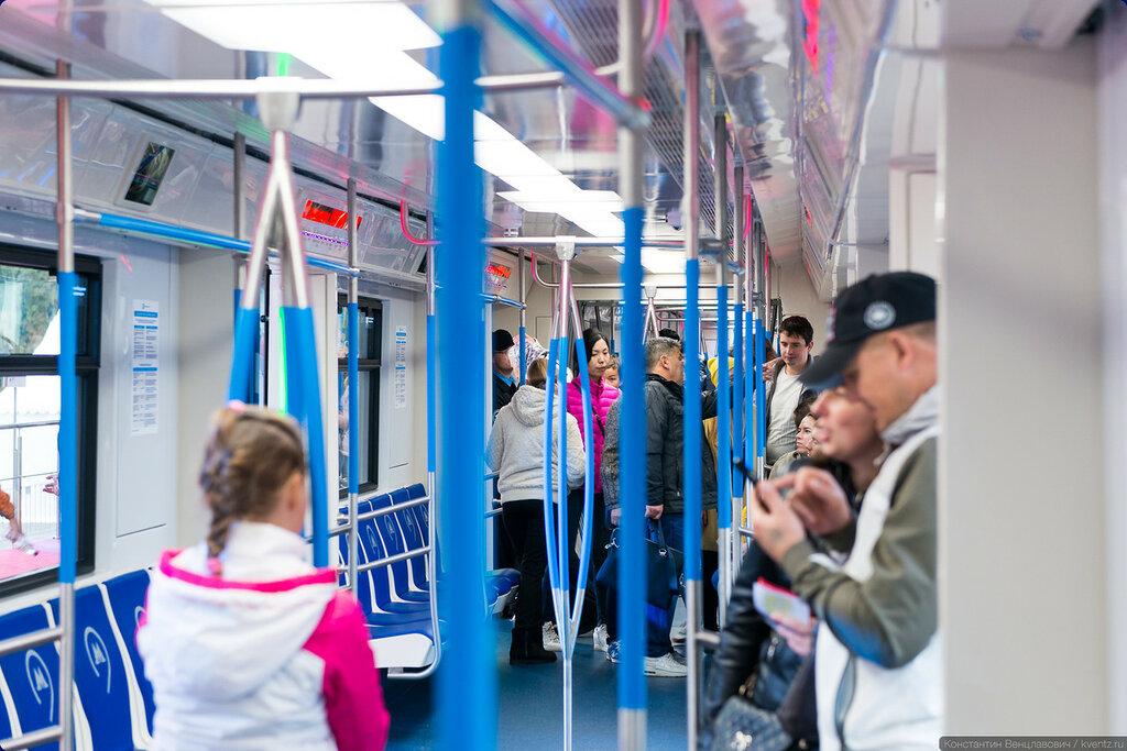 Подвижной состав «Москва» работает на Таганско-Краснопресненской линии уже с сегодняшнего дня