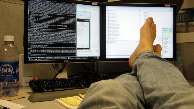 Открытки С днем программиста! Минуты отдыха программиста