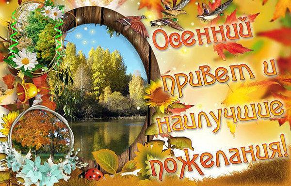 Осенний привет и наилучшие пожелания