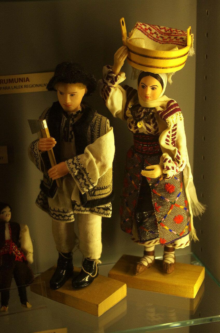 Куклы из Румынии