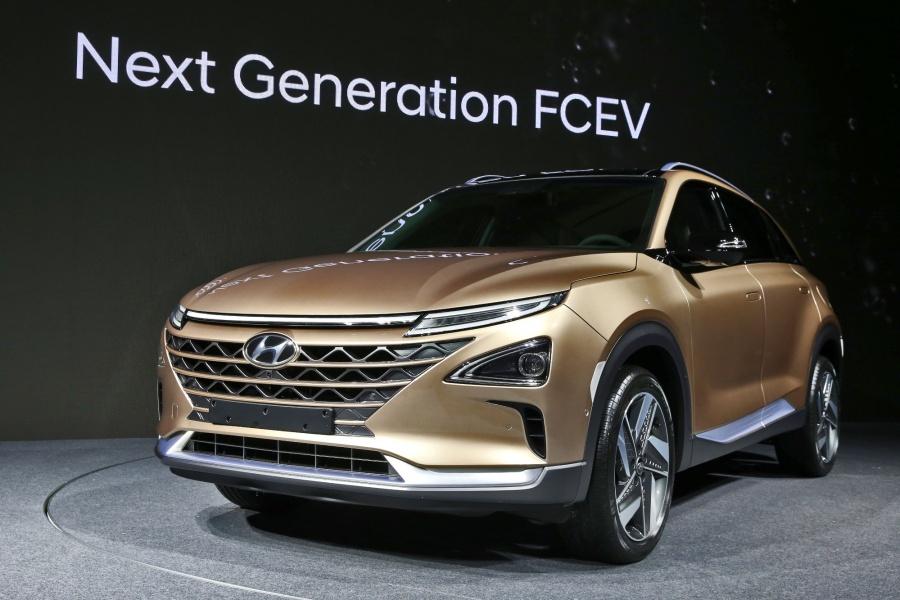 Hyundai ставит наконвеер водородный кроссовер