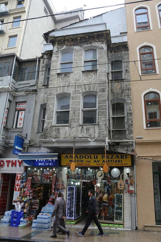 Istanbul. Hüdavendigar Caddesi Street)