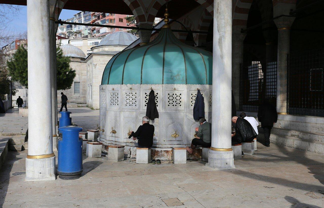Стамбул. Мечеть Михримах-султан (Mihrimah Sultan Camii)