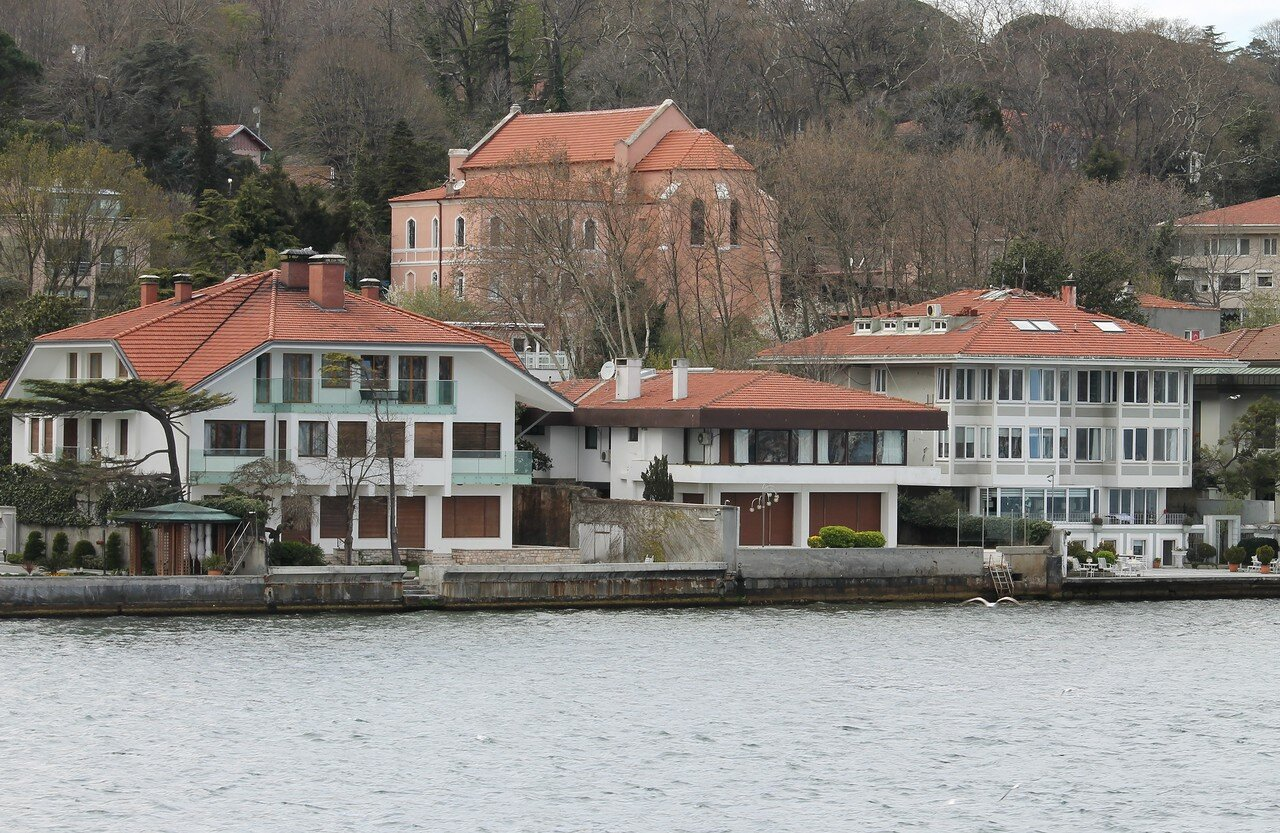 Istanbul. True. View from the Bosphorus