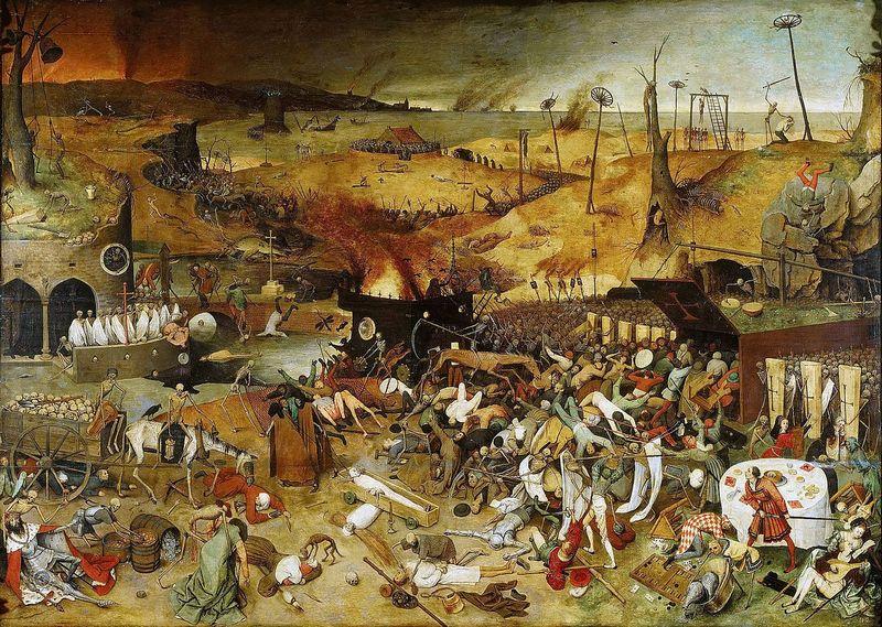 «Триумф смерти» – картина Питера Брейгеля Старшего