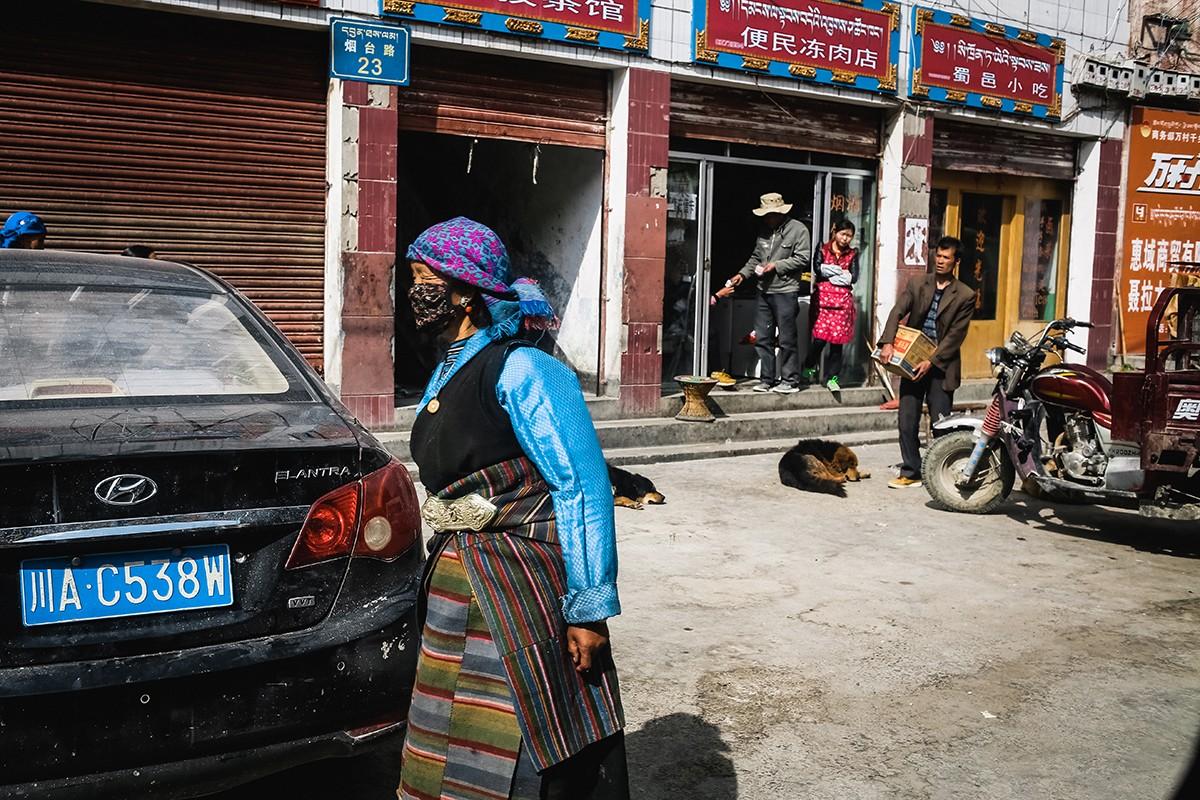 11. Въезжаем в Ньялам. В переводе с тибетского это означает «Путь в ад». Название городу дал великий