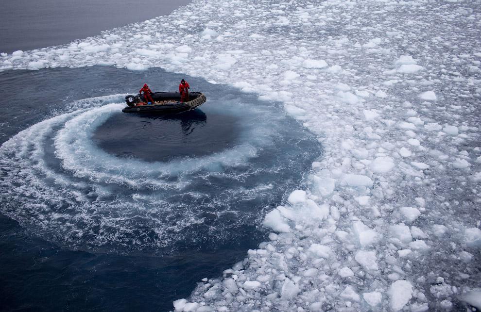 4. В слоях с возрастом 320—280 млн лет здесь присутствуют ледниковые отложения, однако более мо