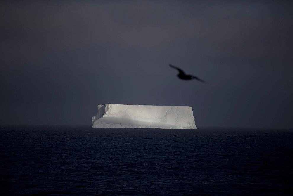 Антарктида отличается крайне суровым холодным климатом. В Восточной Антарктиде на советской ант