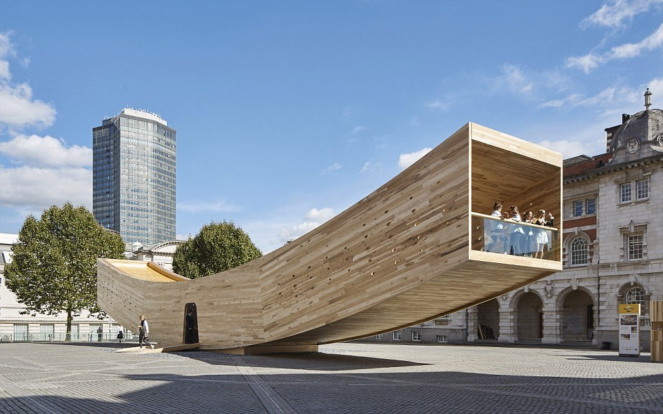 Оперный театр в Чжухае, Гуандун, Китай. Архитектор: CR Institute of Architectural & Urban Design.