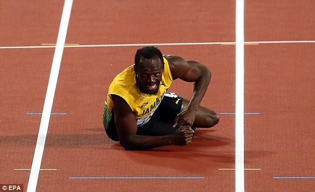 Во время последнего забега спортсмен получил травму. Хотя год назад, после триумфа на Играх в Рио, г