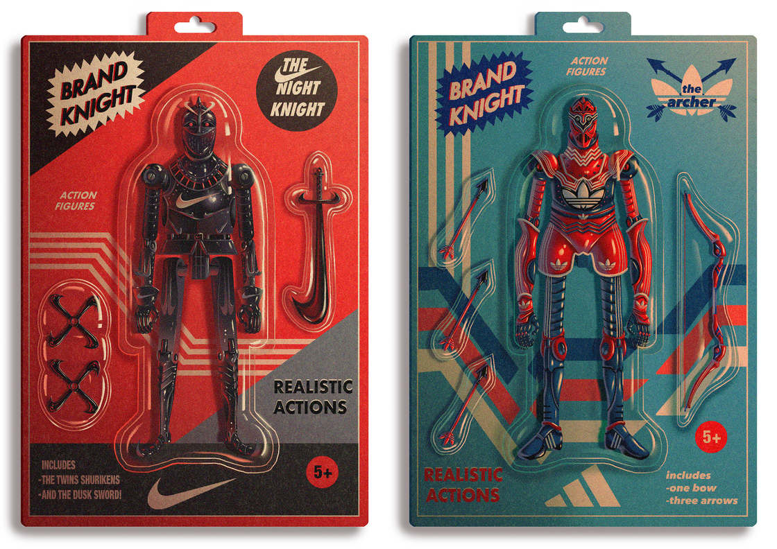 Brand Knight – When famous brands are turned into toys (10 pics)