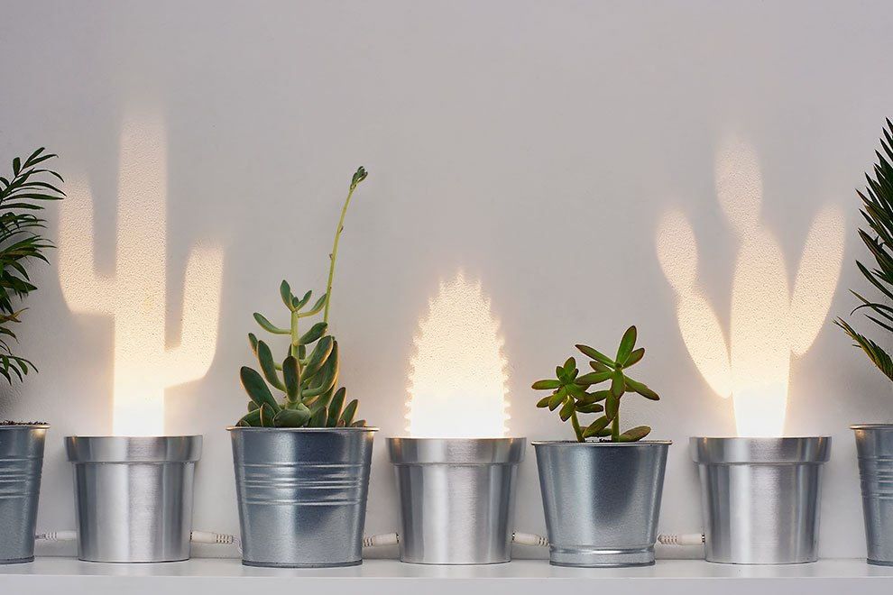 Cute Cactus Lamps by Chen Bikovski