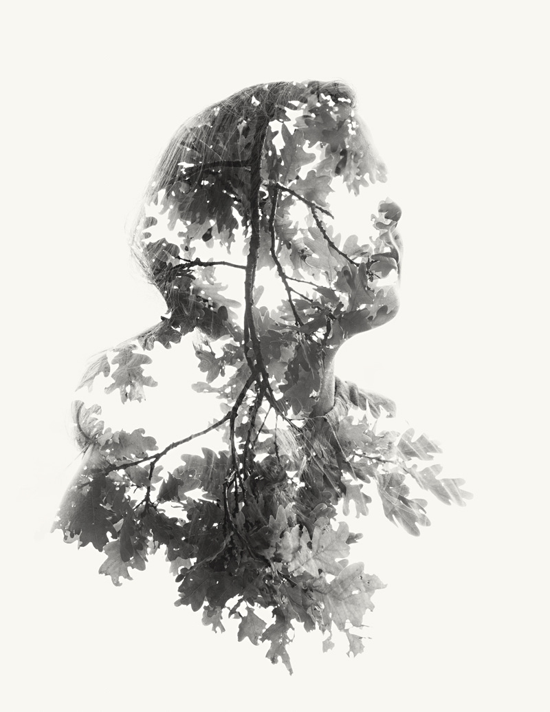 We Are Nature Vol. III: New Double and Triple Exposure Portraits by Christoffer Relander