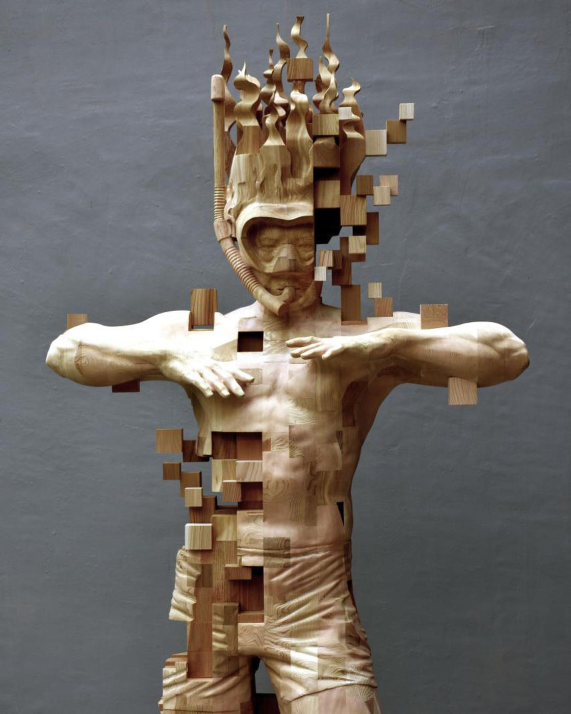 Wooden Glitches – The amazing sculptures by Hsu Tung Han (14 pics)