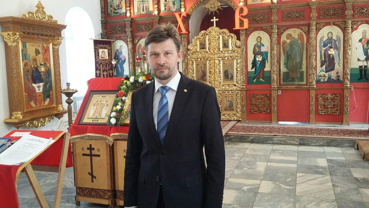 Начальникъ РИС-О Дмитрiй Сысуевъ