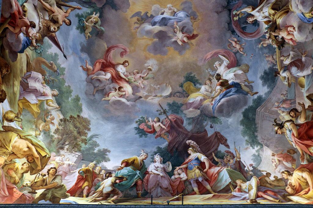 Reggia_di_caserta,_sala_di_alessandro,_matrimonio_di_alessandro_e_roxane,_di_mariano_rossi,_1787,_02.JPG