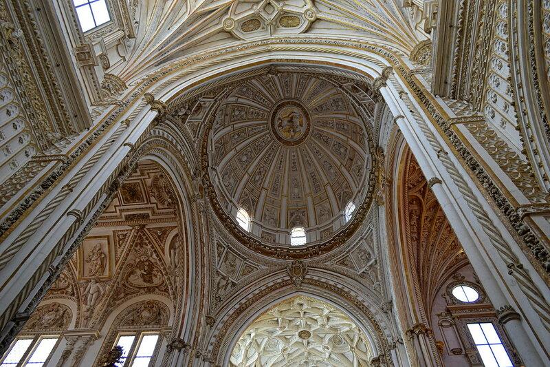 Католическая Мескита — потолок