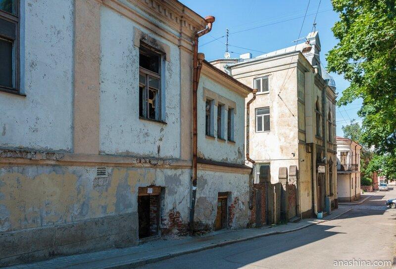 Дома по Краснофлотской улице, Выборг